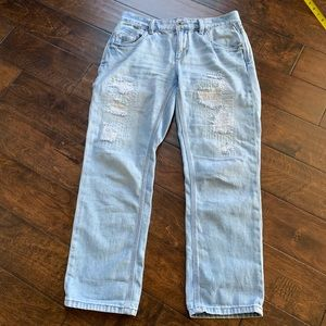 BCBG Ripped Jeans Size 27